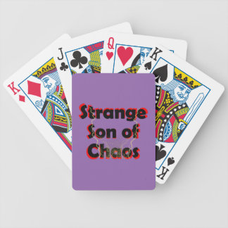Strange Son Of Chaos Bicycle Playing Cards
