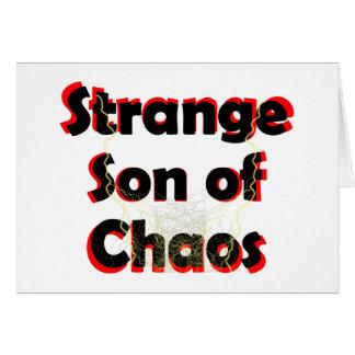 Strange Son Of Chaos Card
