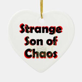 Strange Son Of Chaos Ceramic Ornament