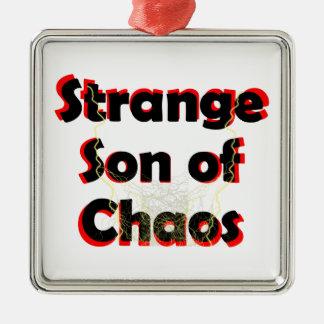 Strange Son Of Chaos Metal Ornament