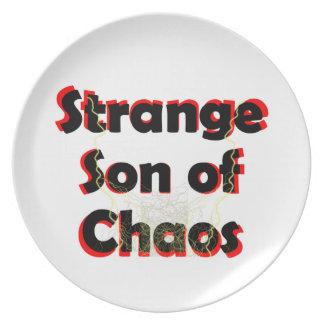 Strange Son Of Chaos Plates