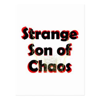 Strange Son Of Chaos Postcard