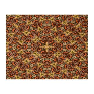 Strange unique unusual pattern cork paper prints