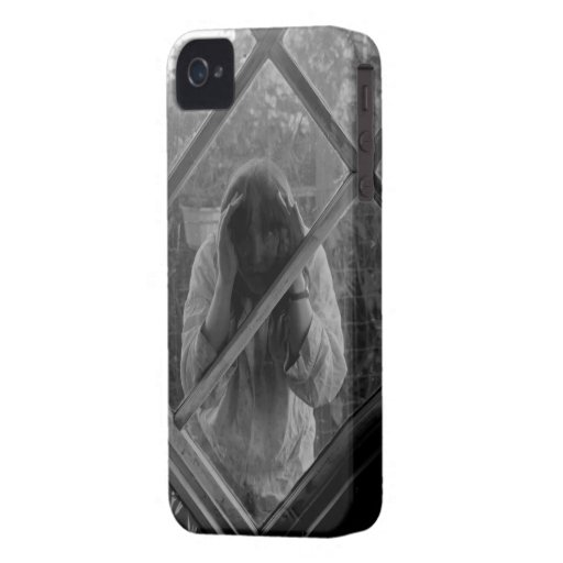 Strange Woman Trapped in Phone Blackberry Case