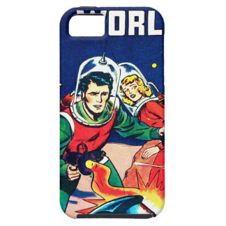 Strange Worlds -- Angry Robots Case For The iPhone 5