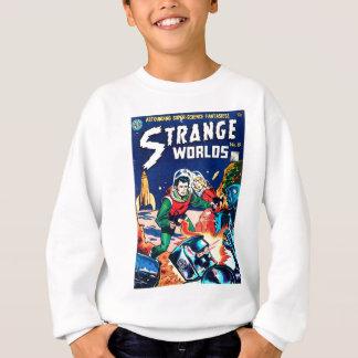 Strange Worlds -- Angry Robots Sweatshirt