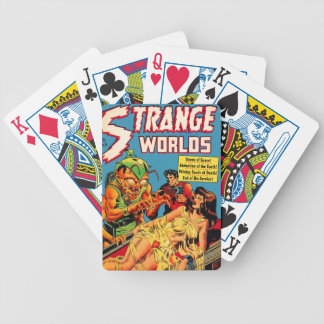 Strange Worlds -- Space Princess Bicycle Playing Cards