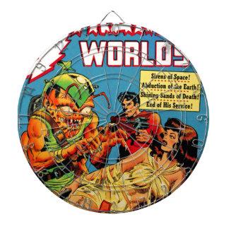 Strange Worlds -- Space Princess Dartboard
