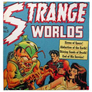 Strange Worlds -- Space Princess Napkin
