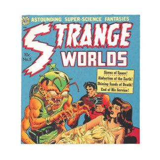 Strange Worlds -- Space Princess Notepad