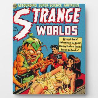 Strange Worlds -- Space Princess Plaque