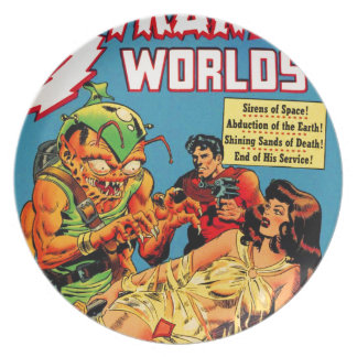 Strange Worlds -- Space Princess Plate