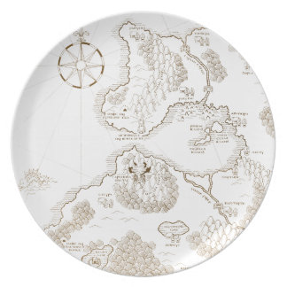 < Strange worldwide map - brown >Another world map Plate