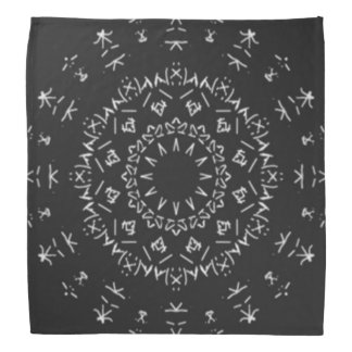 Strange writing bandana