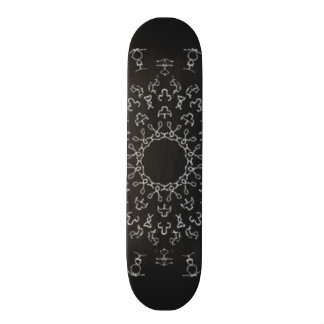 Strange Writing Skateboard Deck