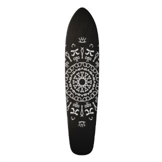 Strange Writing Skateboard Deck