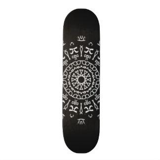Strange Writing Skate Board Decks