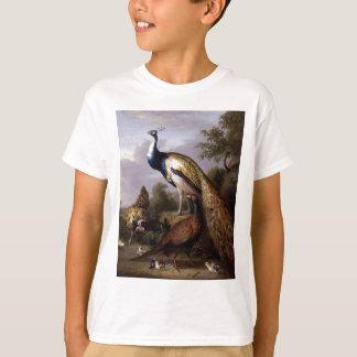 STRANOVER, animaux de paon d'oiseaux de Tobias T-shirt