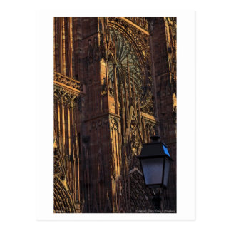 Strasbourg - Cathedral Closeup Postcard