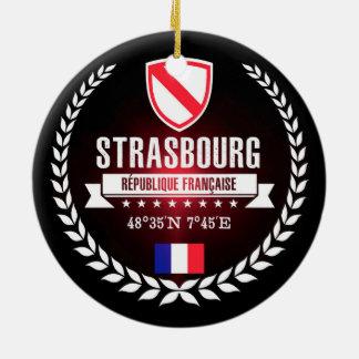 Strasbourg Ceramic Ornament