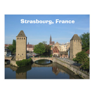 Strasbourg, France Postcard