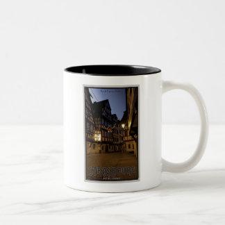 Strasbourg - Petite France Early Morning Two-Tone Coffee Mug