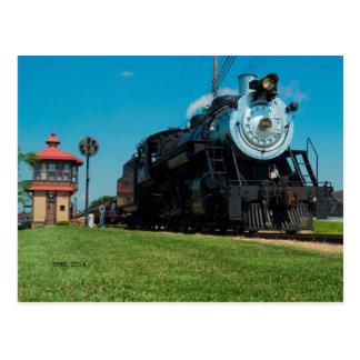 strasburg railroad #90 at J tower Postcard