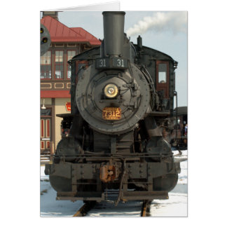 Strasburg Railroad Engine 31 Card