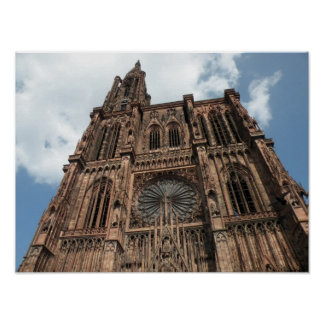 Strassburg Cathedral Poster