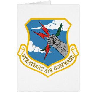 Strategic Air Command Card