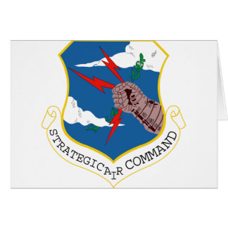 Strategic Air Command Greeting Card