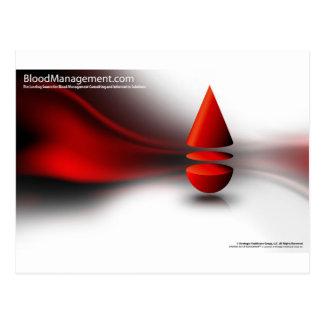 strategic blood management postcard