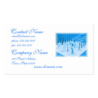 Strategic Chess Play Business Card