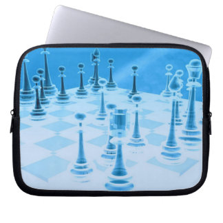 Strategic Chess Play Electronics Bag Laptop Computer Sleeve