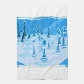 Strategic Chess Play Kitchen Towel