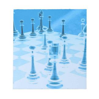 Strategic Chess Play Notepad