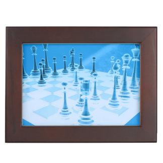 Strategic Chess Play Memory Box