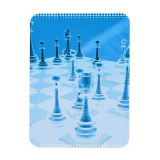 Strategic Chess Play Premium Magnet Magnet