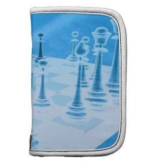 Strategic Chess Play Wallet Folio Organizer