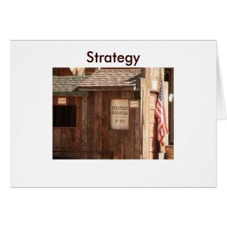 Strategic Financial Greeting Card