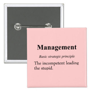 Strategic practices of executive managment (2) 2 inch square button