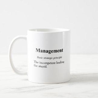 Strategic practices of executive managment (2) classic white coffee mug
