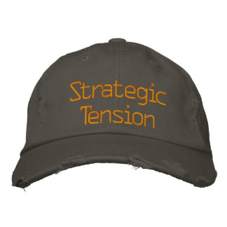 Strategic Tension Embroidered Hats