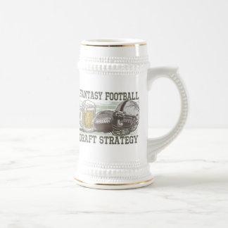 Stratégie d'ébauche du football d'imaginaire tasse