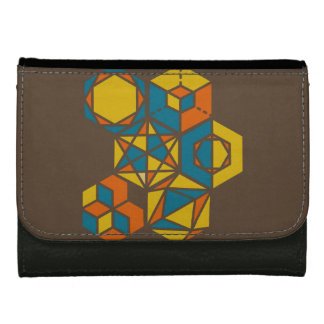 Strategios / Black Medium Leather Wallet
