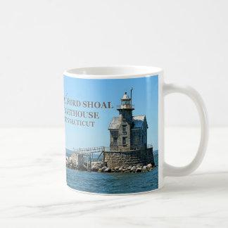 Stratford Shoal Lighthouse, Connecticut Coffee Mug