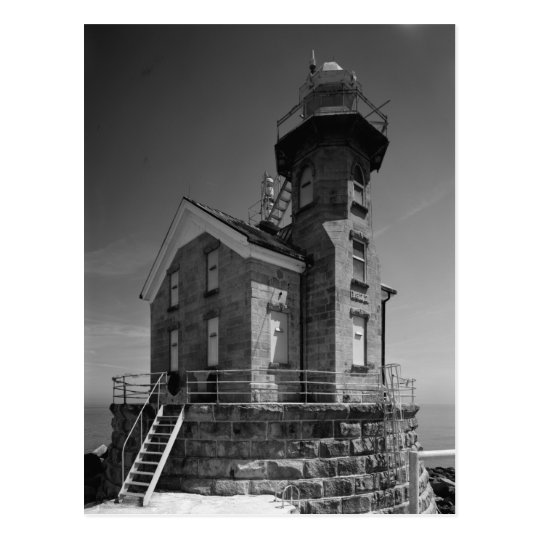 Stratford Shoal Lighthouse Postcard