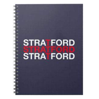 STRATFORD SPIRAL NOTEBOOK