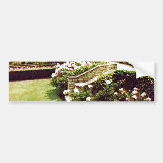 Stratford-upon-Avon England Garden snap-29087 jGib Car Bumper Sticker