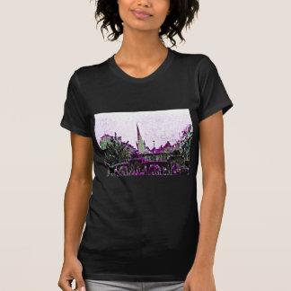 Stratford-upon-Avon England Purple Garden jGibney Tee Shirts